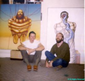 w/ Chicago Artist Bob Lostutter