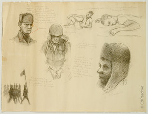 Untitled (Army Drawing), 1963