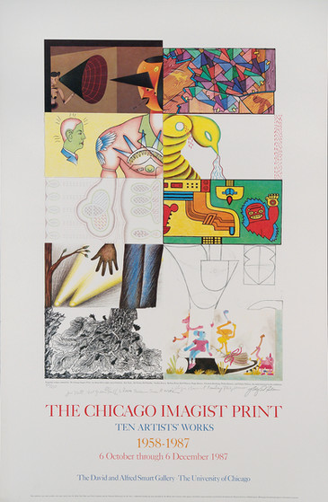 The Chicago Imagist Print 1958-1987