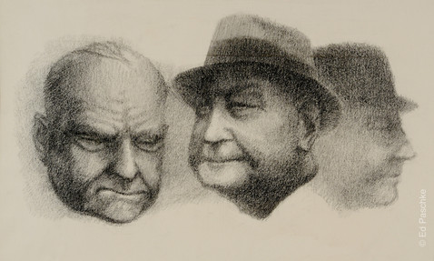 Untitled (Three Men), 1960