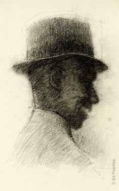Untitled (Man with Hat), 1961
