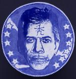 Ed Paschke Portrait Plate