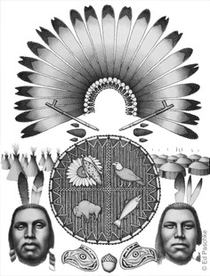 Original Native American Panel