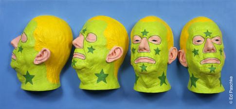 Unfinished Heads I, 2004