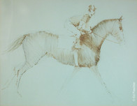 Untitled (Jockey on Horse Running)