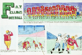 Fat Fellows Football #1, 1956