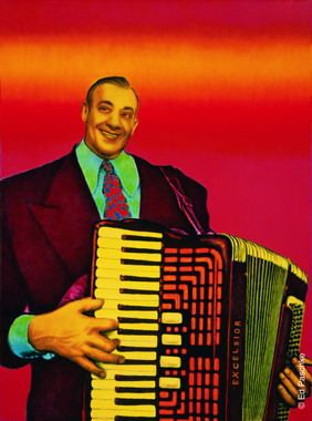 Accordian Man, 1969