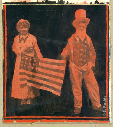 Untitled (Betsy Ross & Uncle Sam), 1965