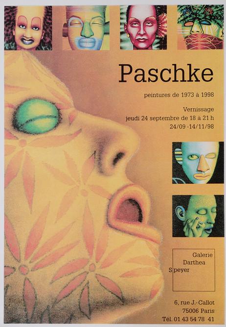 Paschke: Peintures de 1973 a 1998