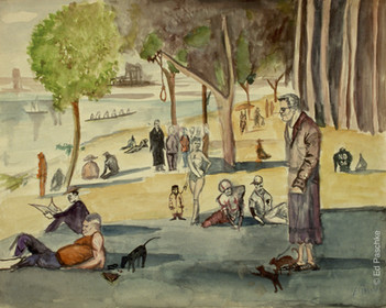 Untitled (Sunday Afternoon on the Grand Jane), 1956