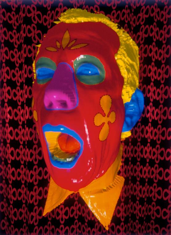 Self Portrait, Red