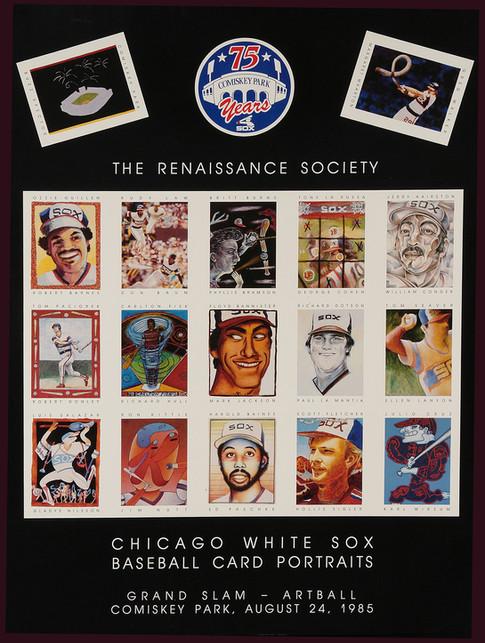 Chicago White Sox Baseball Card Portraits