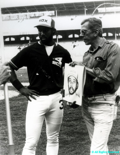 Chicago White Sox Hall of Famer Harold Baines