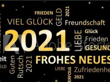 Frohes neues Jahr und bleibt alle Gesund!