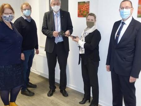 Geschäftsstelle der zukünftigen Pflegekammer NRW in der Kaiserswerther Diakonie wird bezogen