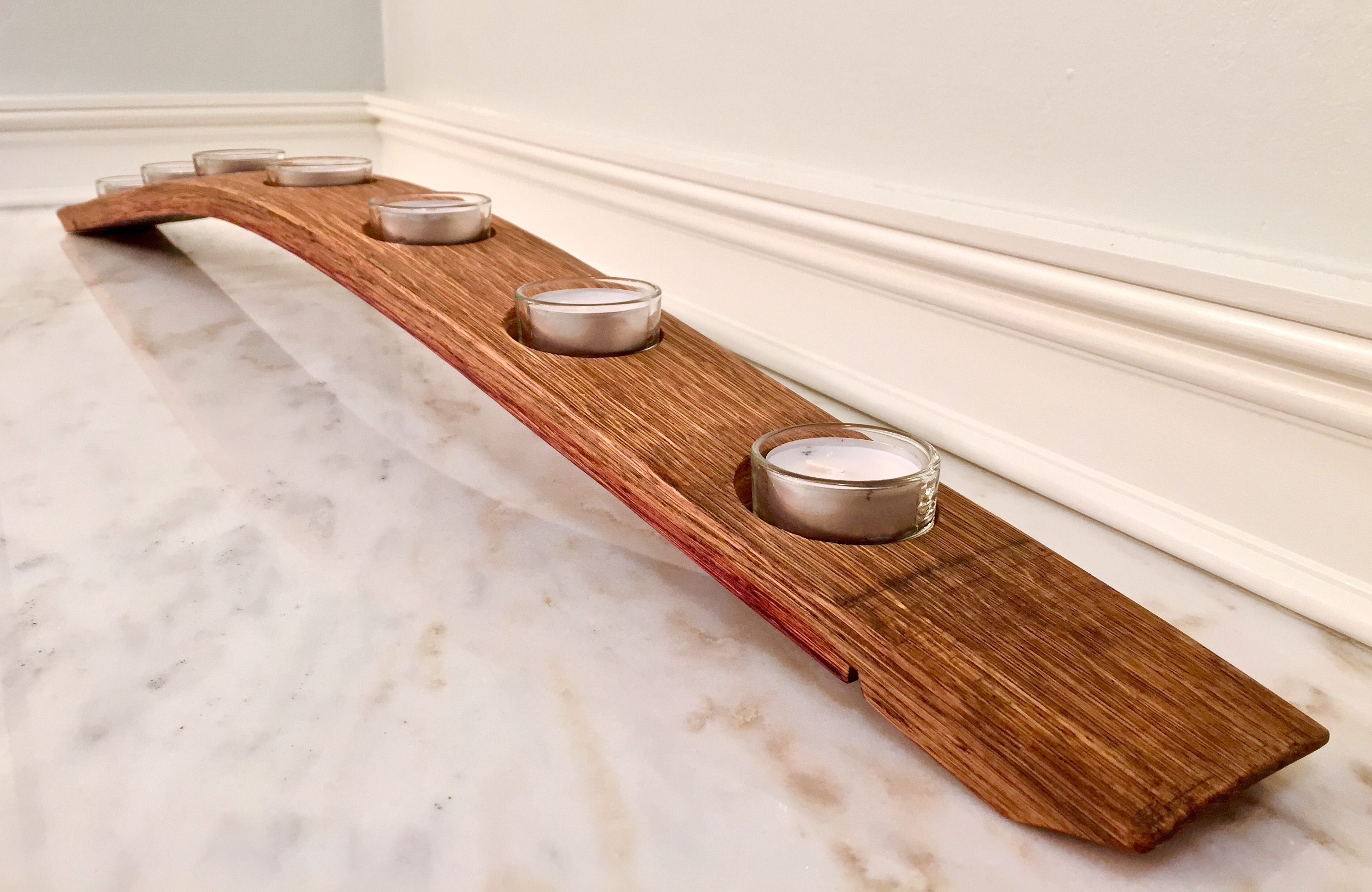 Full Stave Candle Holder