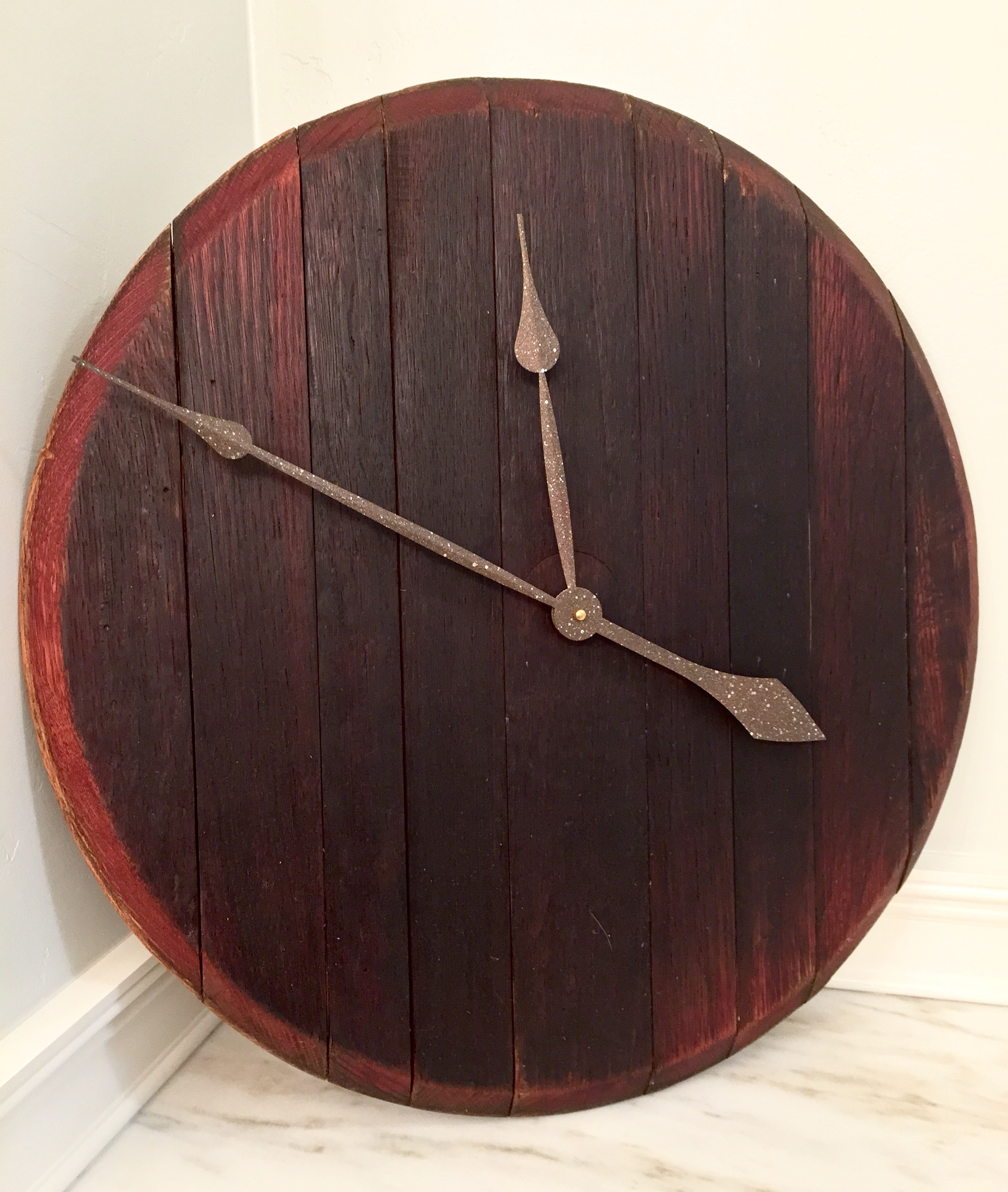 Barrel Head Clocks