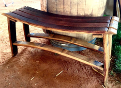 Stave Bench
