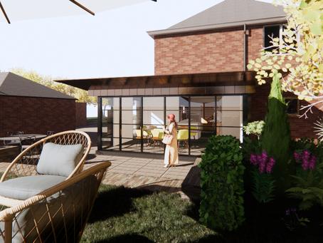 Concept design Capel Lane - Cheltenham