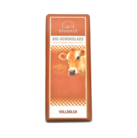 Bio JerseyGold Schokolade Vollmilch, 70g