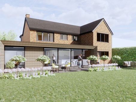 Concept design for new house extension and alterations Twyning
