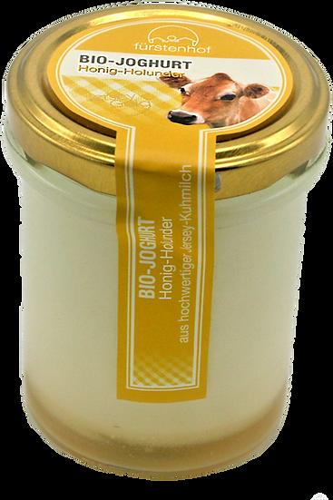Bio Jersey Joghurt Honig Holunder, 210ml