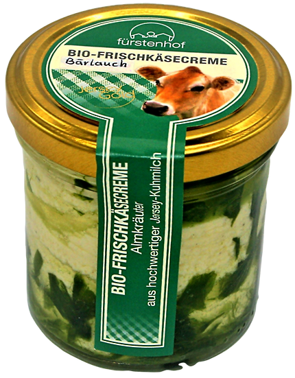 Bio Frischcreme Bärlauch, 150g