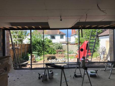 Site progress - 11 Keynsham Road - Cheltenham