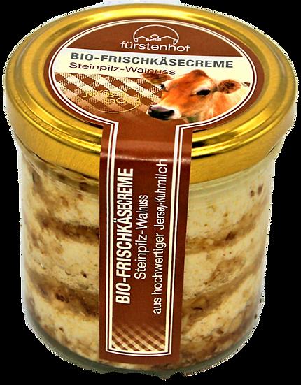 Bio Frischkäsecreme Steinpilz Walnuss, 150g