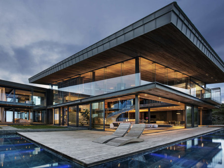 Cliff Top Modern House by SAOTA
