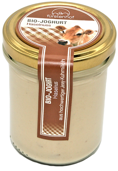Bio Jersey Joghurt Haselnuss, 210ml