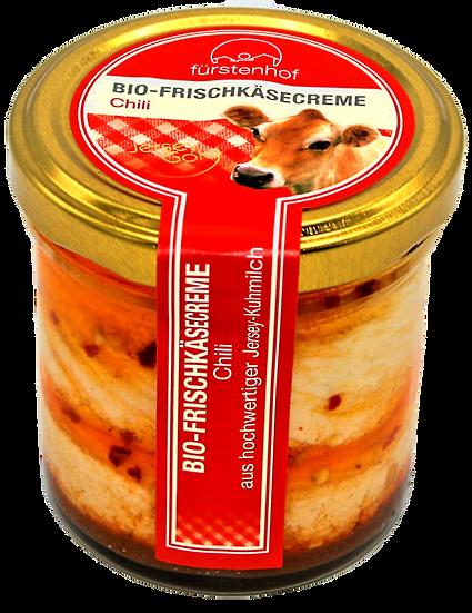 Bio Frischkäsecreme Chili, 150g