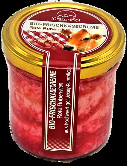Bio Frischkäsecreme Rote Rüben-Kren, 150g