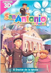 San Antonio de Padua: Doctor de la Iglesia (infantil)