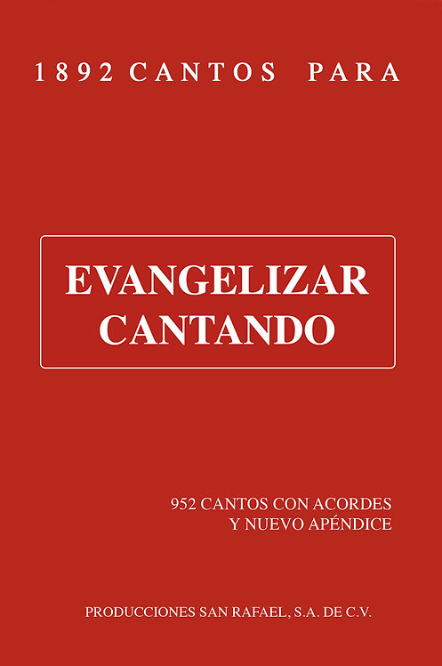 Evangelizar Cantando -1982 cantos-