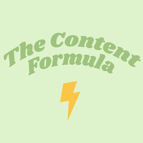 The Content Formula 2021