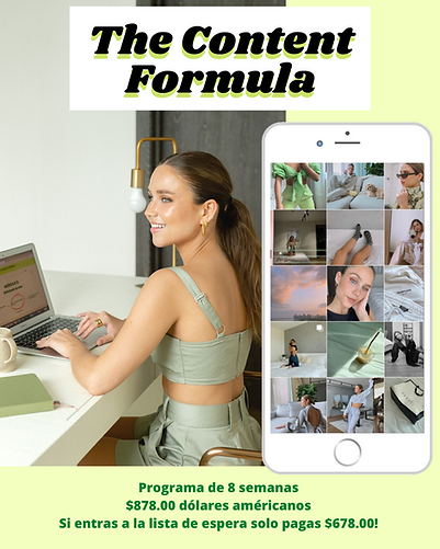 The Content Formula_ Programa de 6 seman
