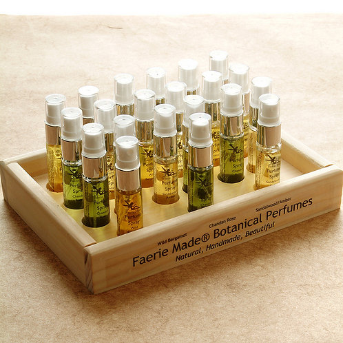 Wholesale Botanical Perfumes Display