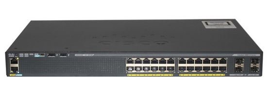 Cisco Catalyst 2960L 24 Ports (P/N: WS-C2960X-24TS-L)