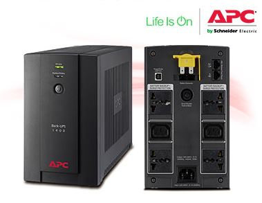 APC Back-UPS 1400VA, 230V ( BX1400U-MS)
