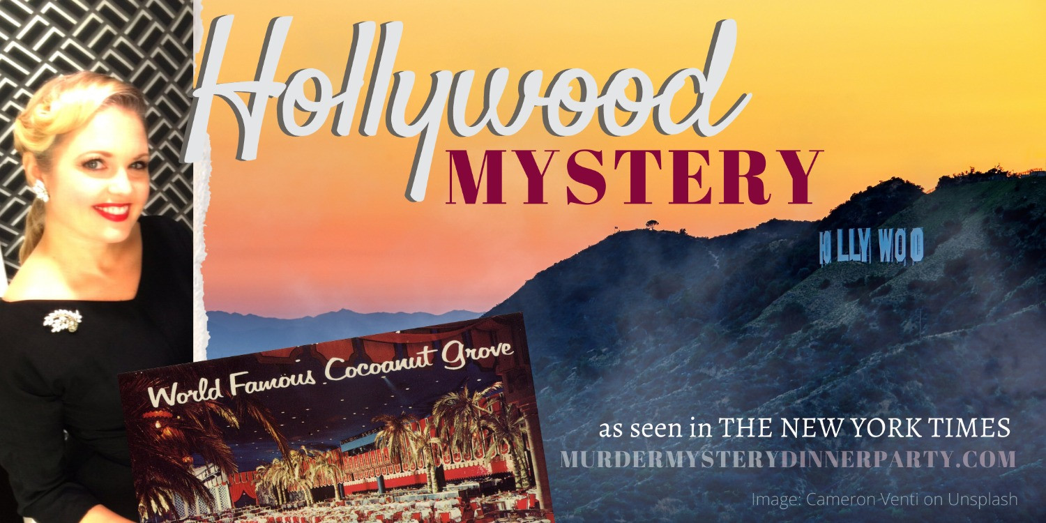 Hollywood mystery party