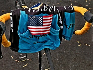 A small flag helps me to be safer on road rides.