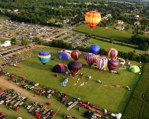 2014 Warren County Fair Balloon/Bike Race