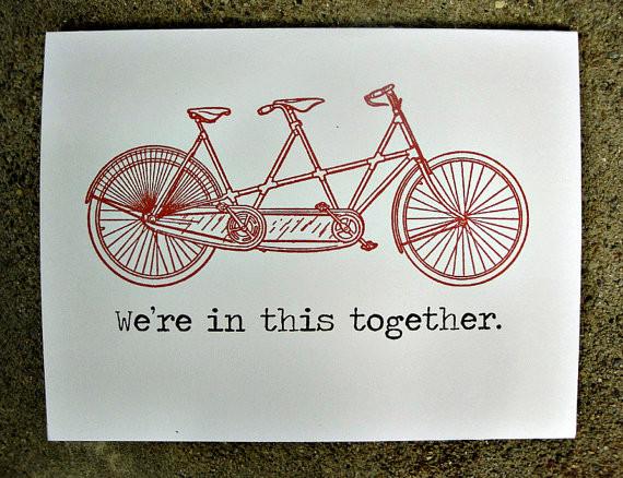 Tandem Bike.