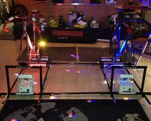 Roller racing at Vertical Earth.