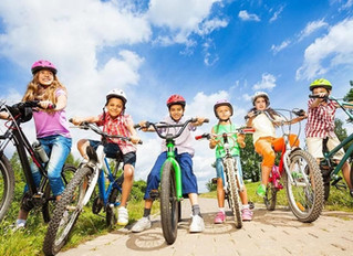 Helping kids to have a better day of riding.