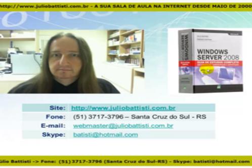 Curso Oficial do Parceiro (Windows Server AD 2008)