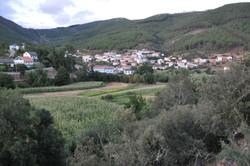 Vista global da aldeia