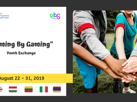 """Youth Exchange """"Aiming By Gaming""""! Call for Participants!"""