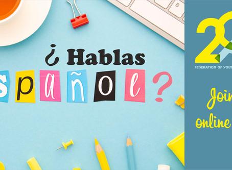 Երիտասարդական ակումբների դաշնությունը (FYCA) մեկնարկում է «¿Hablas Español?» դասընթացը🥳